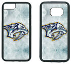 NASHVILLE PREDATORS PHONE CASE COVER FITS iPHONE 6 7 8+ XS MAX SAMSUNG S10 S9 S8 $13.5 USD on eBay