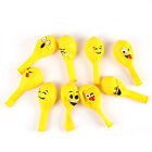 10Pcs Latex Balloons Emoji Face Birthday Wedding Party Decoration Supplies
