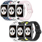 Replacement Sports Silicone Strap Band for Apple Watch Series 4/3/2/1 38mm 42mm image