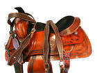 15 16 17 ROPING HORSE PLEASURE RANCH ROPER WESTERN SADDLE WORKING CUSTOM LEATHER