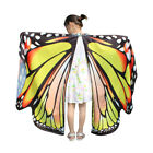 Kids Girls Butterfly Wings Shawl Scarves Nymph Pixie Poncho Costume Accessory