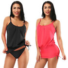 2Pcs Women Set Bikini Sport Top + Brief Swimwear Swimsuit Beachwear New