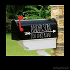 Farmhouse Style - *REFLECTIVE Available*Set of 2 matching mailbox decals! MAI-39