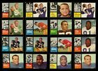 1962 Topps Football Cards - Complete Your Set ** YOU PICK **  NICE Condition on eBay