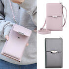 Small Leather Crossbody Cellphone Shoulder Bag Smartphone Wallet Purse for Women