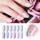 NICOLE DIARY 10g Dipping Nail Powder Purple Sequins Light Sensitive Nail Decors