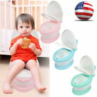 2 In 1 Kid Baby Toilet Training Children Safety Toddler Potty Trainer Seat Chair image