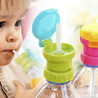 Baby Kids Portable Bottle Cover Replacement Children Drink Cover Anti Spill Lid for sale  Rowland Heights