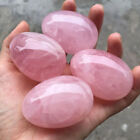 Kyпить Natural Pink Rose Quartz Crystal Egg Shaped Ball Magic Healing Sphere Gemstone на еВаy.соm