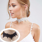 Choker White Gothic Lace Necklace Collar Victorian Necklace Choker Baroque
