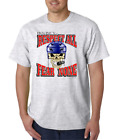 USA Made Bayside T-shirt Hockey Respect All Fear None