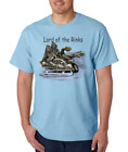 Gildan Short Sleeve T-shirt Sports Hockey Skates Lord Of The Rinks Rink