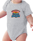 Infant Creeper Bodysuit T-shirt Grandpa's Little Angel