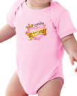 Infant Creeper Bodysuit T-shirt Grandpa's Lil Little Princess