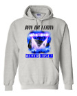 Gildan Hoodie Pullover Sweatshirt Sports Hockey Win Or Learn Never Lose