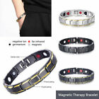 New Men Women Therapeutic Energy Healing Magnetic Bracelet Therapy Arthritis image