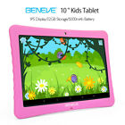 10.1'' Inch Kids Google Tablet PC Android 7.0 Quad Core Dual Camera...