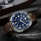 San Martin 62MAS Men Automatic Watches steel diving Watch 20ATM Ceramic bezel    image