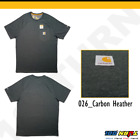 Carhartt Men's Force Cotton Delmont Short Sleeve T-Shirt Relaxed Fit FastDry