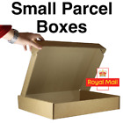Cardboard Postage Boxes Single Wall Postal Mailing Post Office Small Parcel Box