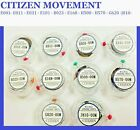 New !  Citizen  Watch Movements Eco-Drive 2 / 3 Hands Solar / Repair / Battery image