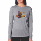 Gildan Long Sleeve T-shirt Country Beach Seashell Sea Shells Ocean Summer