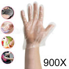 100 - 1200 Plastic Clear Disposable Gloves Food Hygiene Cleaning Catering Beauty