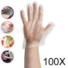 Kyпить 100 - 1200 Plastic Clear Disposable Gloves Food Hygiene Cleaning Catering Beauty на еВаy.соm