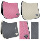 HKM Diamonds Edition Quilted Saddle Cloth GP Dressage Pad Numnah Horse Riding
