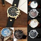 Curren 8176 Men Leather Band Strap Watch MNDhanical Relogio Masculino Watch ND image