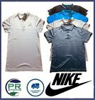 New Nike Golf Dri Fit Polo Shirt Selection Black Grey Blue White