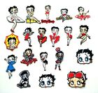 Betty Boop Cartoon cute Patch Embroidered Sew Iron on Jacket Jeans Badge $3.39 USD on eBay