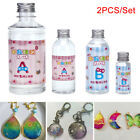 2PC/Set Crystal Clear Resin Pigment Epoxy Transparent Resin Art Craft DIY-v