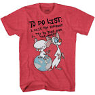 Pinky and the Brain To Do List T-Shirt