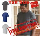 Hanes Mens Short Sleeve Cotton Beefy-T Tall Size T Shirt 518T up to 4XT image