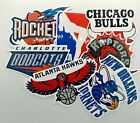 NBA Stickers All Teams Lakers Bulls Raptors Bucks Warriors Logo Basketball NEW! on eBay