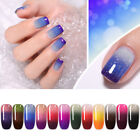 NICOLE DIARY 6ml Thermal Soak Off UV Gel Nail Polish Color Changing Sequins Gel