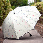 Kyпить Women Anti-UV Sun Rain Protection Windproof Flower Parasols Folding Umbrella US на еВаy.соm