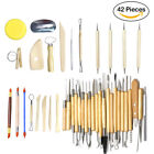 Clay Sculpting Set Carving Pottery Tools Shapers Polymer Modeling 18/30/40/42pcs image