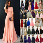Women's Formal Maxi Long Dress Evening Party Bridesmaid Prom Ball Gown Wedding $16.71 USD on eBay