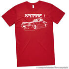 AUTOTEES T-SHIRT FOR RETRO TRIUMPH SPITFIRE CLASSIC CAR ENTHUSIASTS GIFT TEE $18.08 USD on eBay
