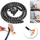 1M Wires Organizer Coiled Tube Cable Management Cable Sleeve 8/10/15/20/25mm