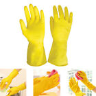 Kyпить Washing Gloves Kitchen Long Waterproof Dish Cleaning Gloves Rubber Latex Protect на еВаy.соm