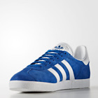 New Adidas Originals Gazelle Trainers Shoes Sneakers - Blue/White/Gold(S76227)