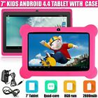android 7 inch tablet 4 4 quad core 8gb camera wifi for kids children