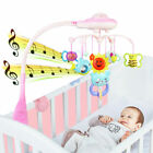 Baby Musical Crib Mobile Bed Bell Toys Hanging Rattles Light Flash Projection US