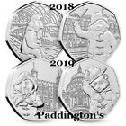50p PADDINGTON BEAR STATION PALACE TOWER CATHEDRAL ALBUMS BEATRIX POTTER COINS