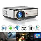 Android WiFi Home Theater Projector HD 1080P Miracast Airplay Kodi HDMI 4500Lms