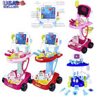 Kyпить Portable Doctor Nurse Medical Trolley Toy Girl's Pretend Playset Role Play Set на еВаy.соm