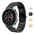 StrapsCo Stainless Steel Watch Strap Compatible with Samsung Galaxy Watch
